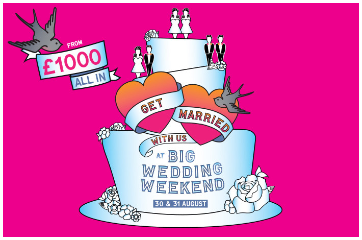 The Big Wedding Weekend, Southbank Centre, London, UK