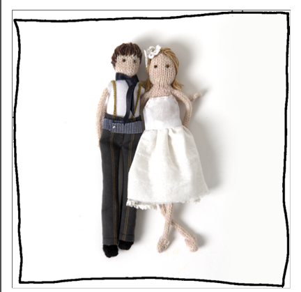 Laura Long - Personalised Bride And Groom Dolls