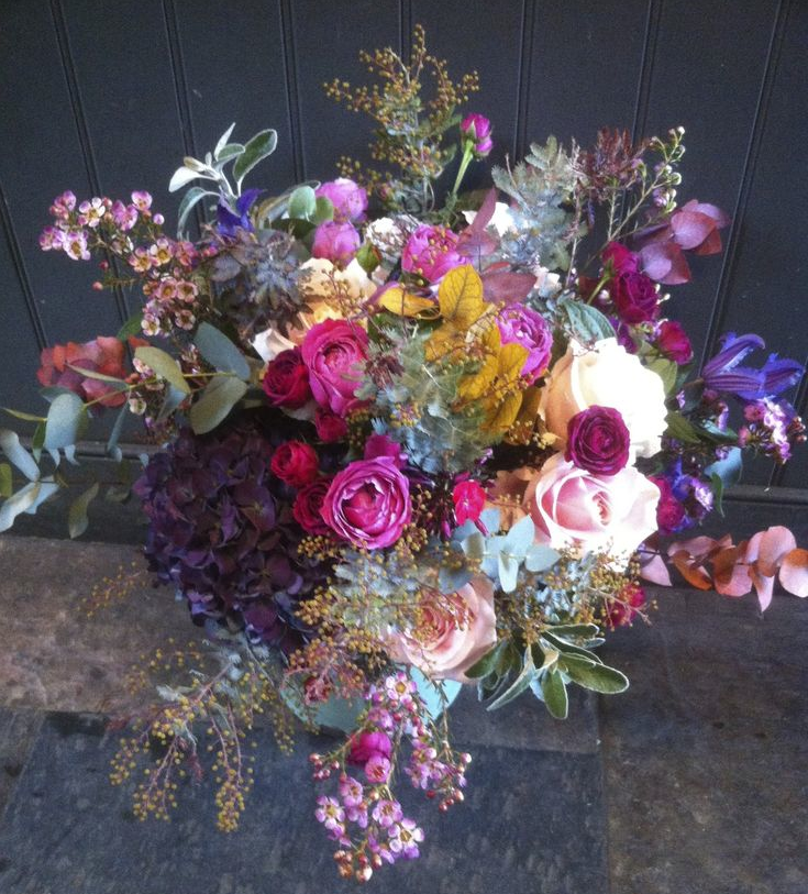 The Urban Flower Company - Bright and colourful wedding flowers